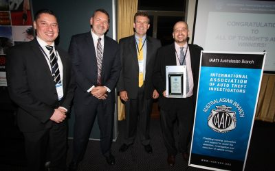 Polonious sponsor IAATI Investigator of the Year